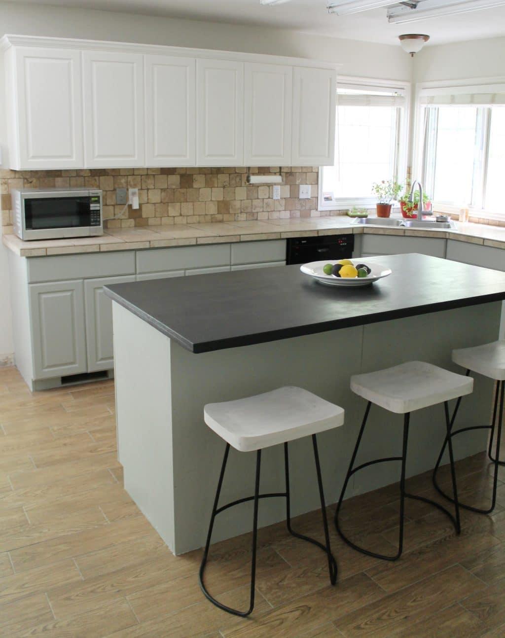 Best Kitchen Gallery: Our Painted Kitchen Cabi S Chris Loves Julia of Valspar Kitchen Cabinet Paint Kits on rachelxblog.com