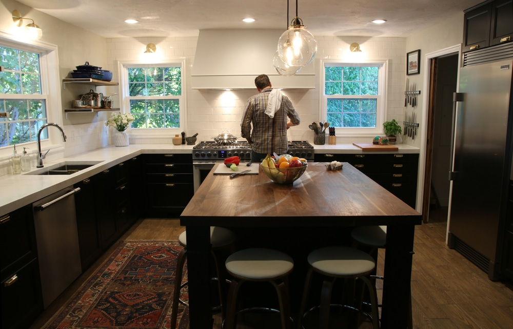 Its Done  The Full Kitchen Reveal  Chris Loves Julia