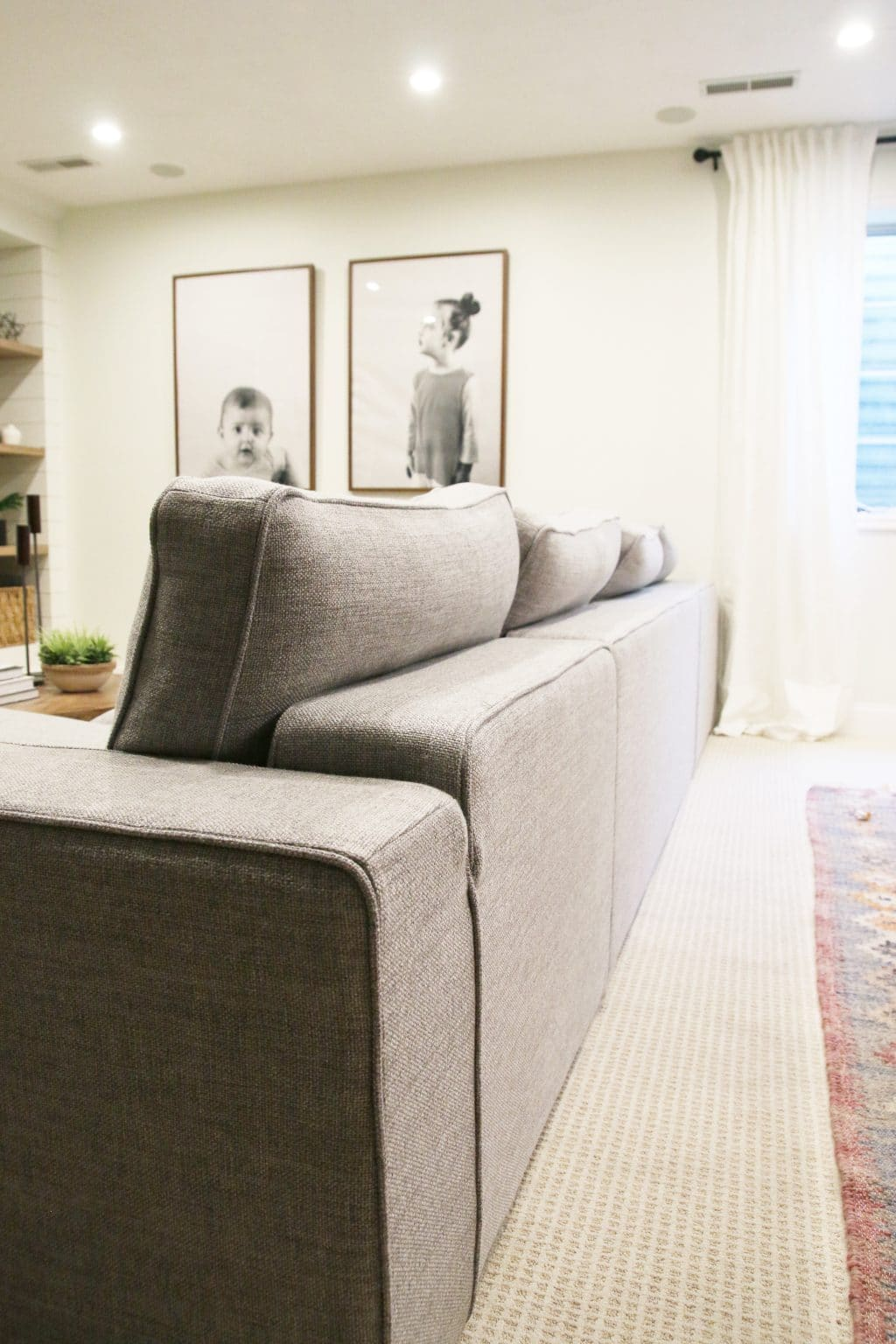 charlie sofa interior define king podcast wiki our new sectional from chris loves julia