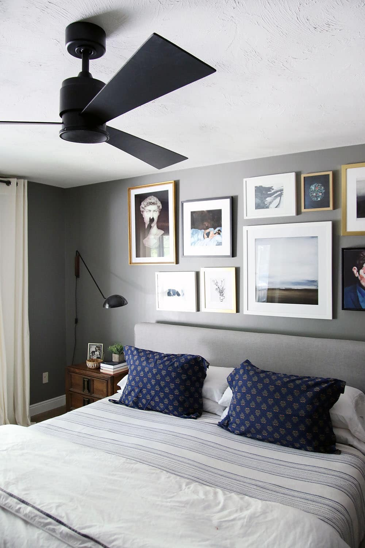 A Modern Ceiling Fan in our Bedroom  Chris Loves Julia