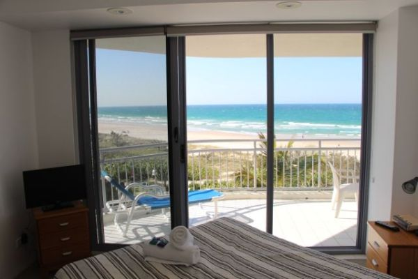 View from our bedroom looking towards Surfers Paradise