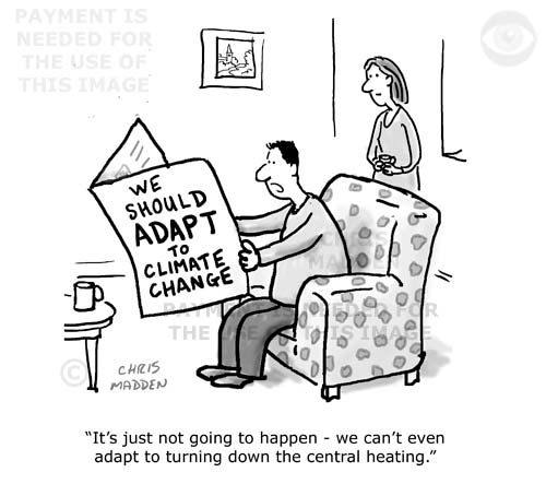 adapt to climate change cartoon