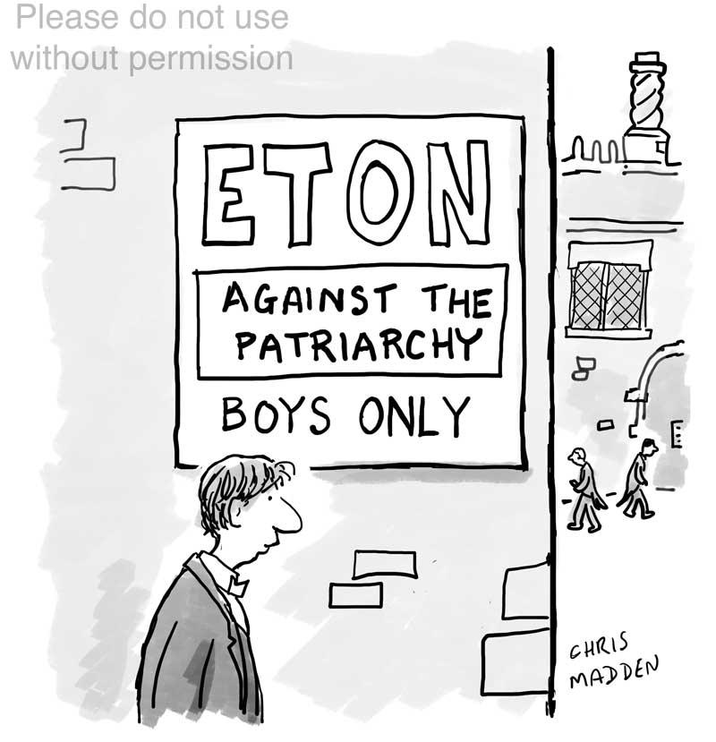 Eton cartoon