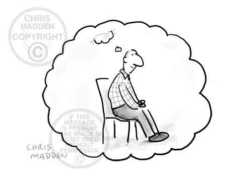 Philosophy cartoons about consciousness