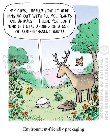Environment cartoon