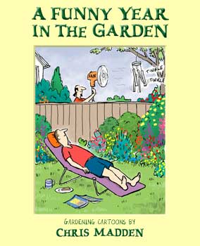 gardening cartoons book