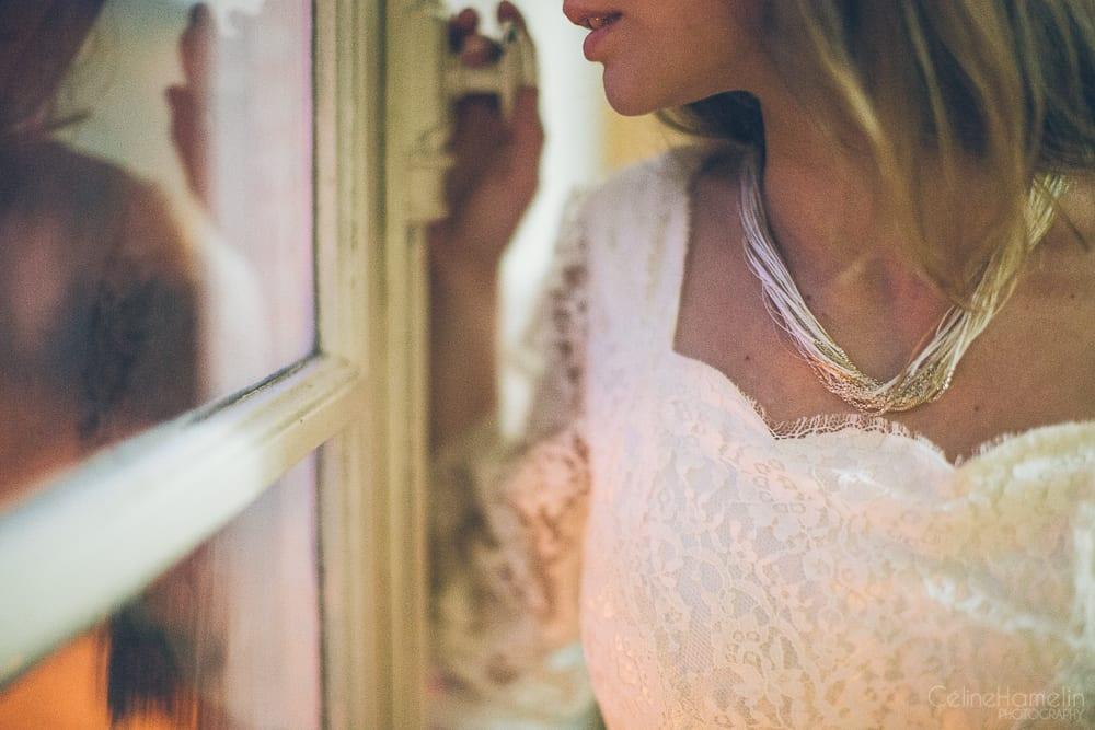 collier de la mariée