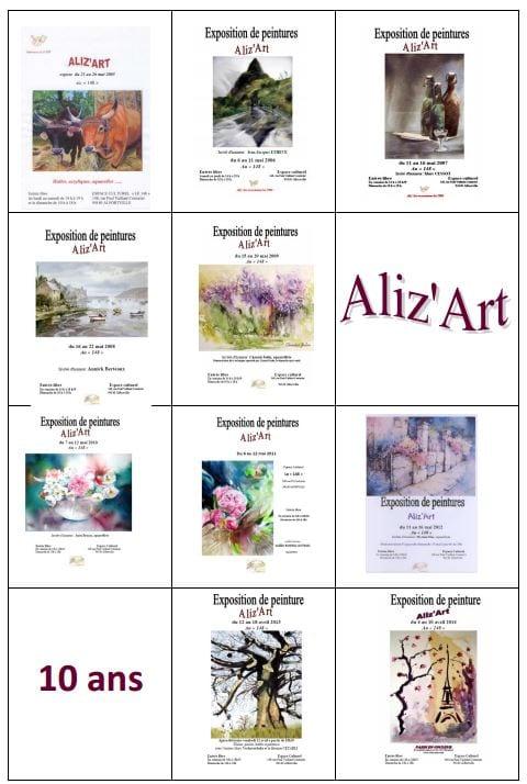Aliz'Art 10 ans