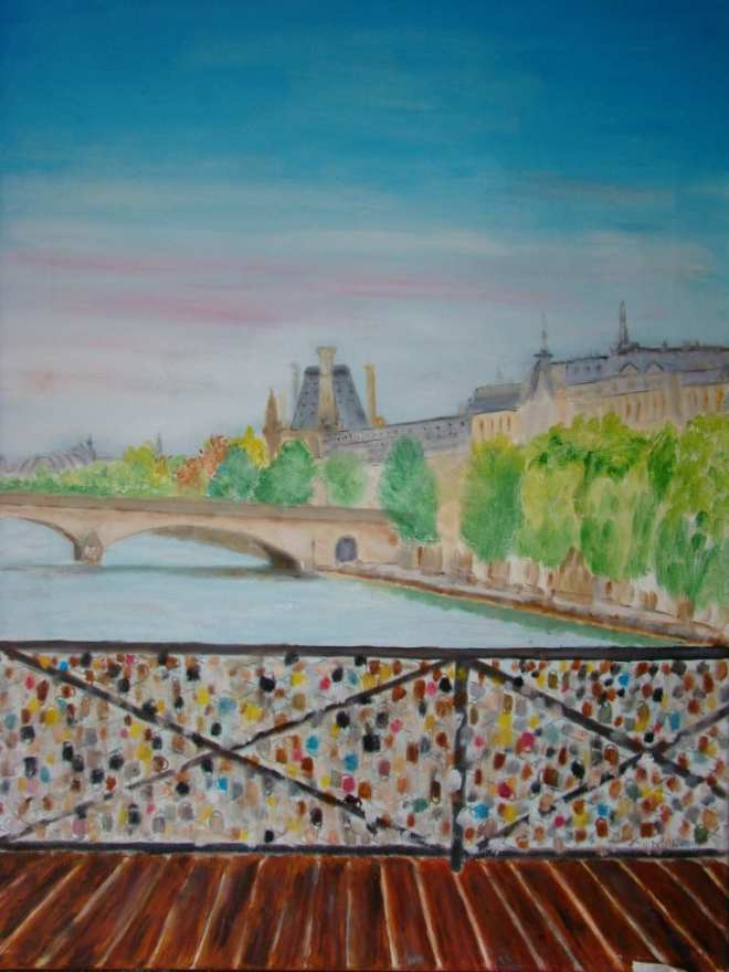 Marie Ararian - Pont des arts