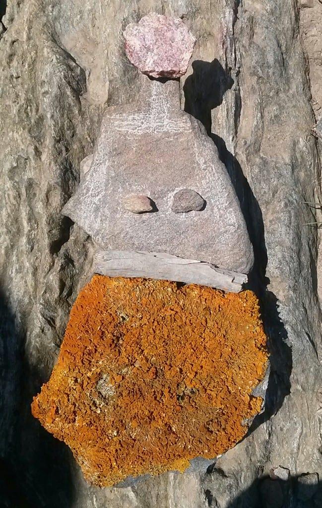 femme de pierre
