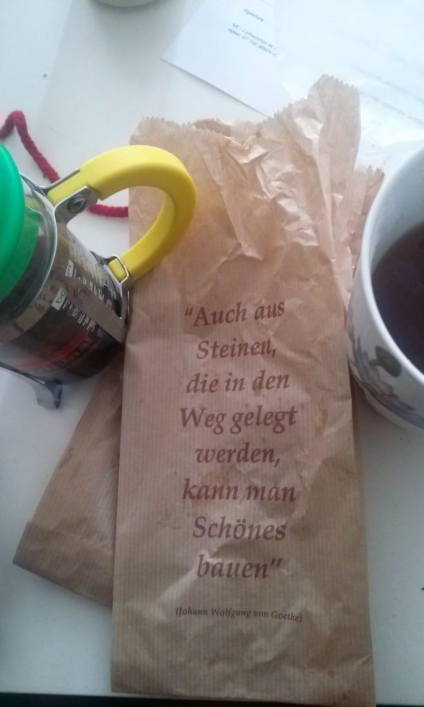 des mots au petit déjeuner