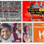 Du 20/11 au 24/12, boutique éphémère  ULUP à Montrouge - du 29/11 au 19/12, salon Immaculata  à Rueil- du 6 au 7/12, marché de Noel de créateurs à Alfortville