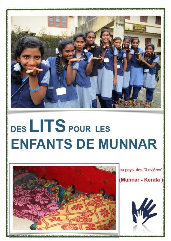 Immacula - des lits pour les enfants de Munnar