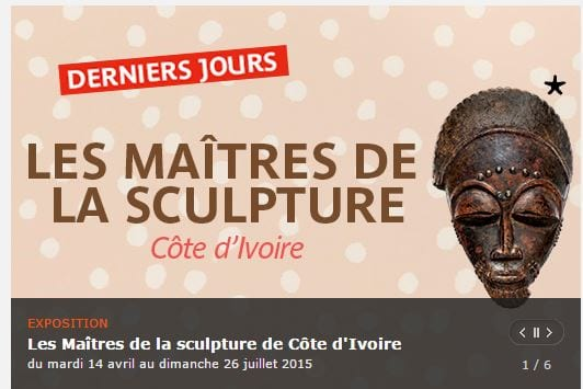 Les Maitres de la sculpture Côte d'Ivoire