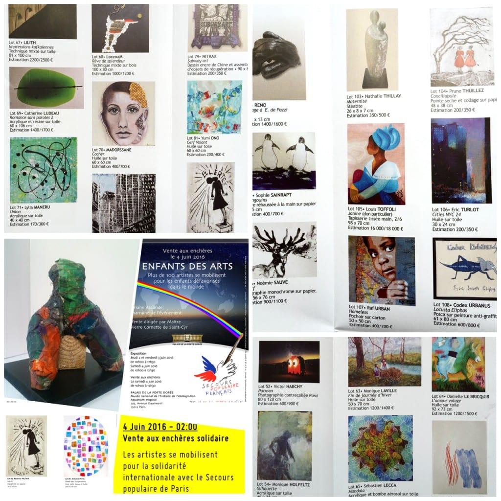 Ventes-aux-encheres-secours-populaire-2016-Enfants-des-arts--ensemble