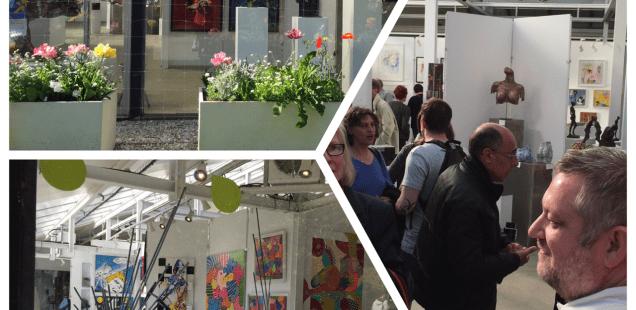 Exposition du Cercle des Artistes de Paris au Parc Floral de Vincennes - l'art pour tous