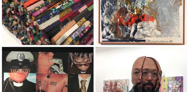 Magritte, Rauschenberg, Murakami, MMM, Manish Nai