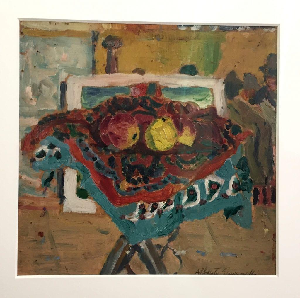 Giacometti-oeuvre de jeunesse