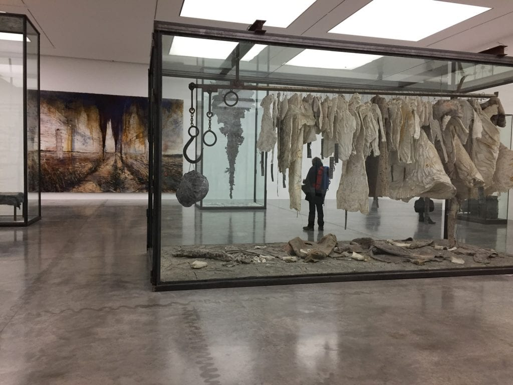 Kiefer Whalhalla White Cube londres