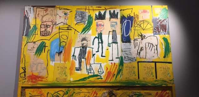 Jean-Michel Basquiat - oeuvres de la la collection Mugrabi - ROME