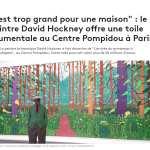 David Hockney à Beaubourg - 60 ans de peinture et arts visuels