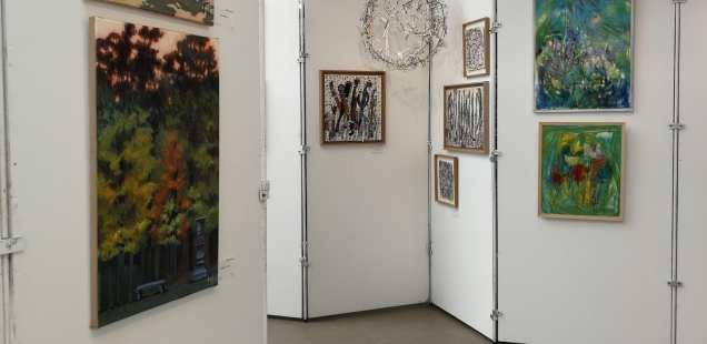 Exposition du  Cercle des Artistes de Paris au Parc Floral - Pari Réussi!