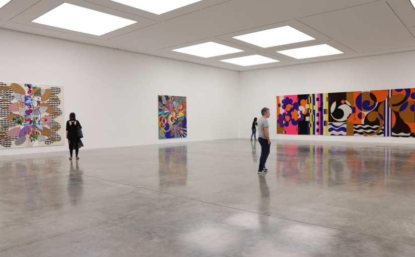 Londres en couleurs – Katharina Grosse chez Gagosian -Beatriz Milhazes à la White Cube