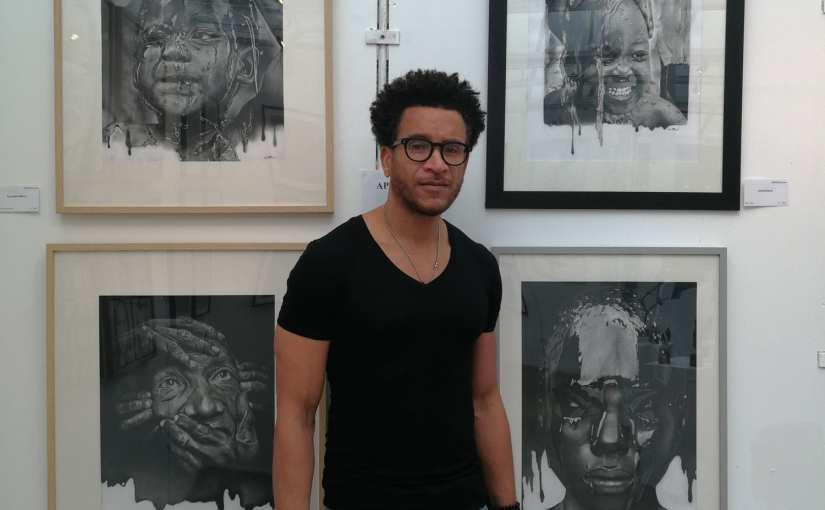 Lucien Pinaud – Portraitiste graphite – Expo du Cercle des Artistes de Paris