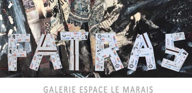 Expo Fatras du  7 au 11 Octobre - Expo Paris métro - station Chaussée d'Antin  du 15 au 28 septembre