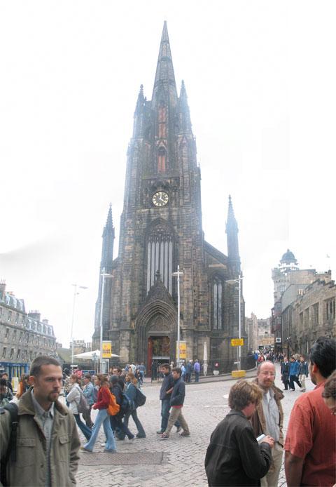 Edinburgh Clock Tower