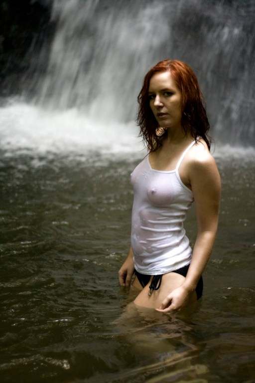Laurie wet tanktop