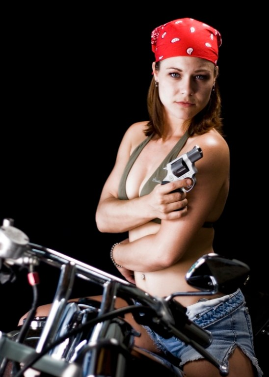Nikki Bike Portrait 2