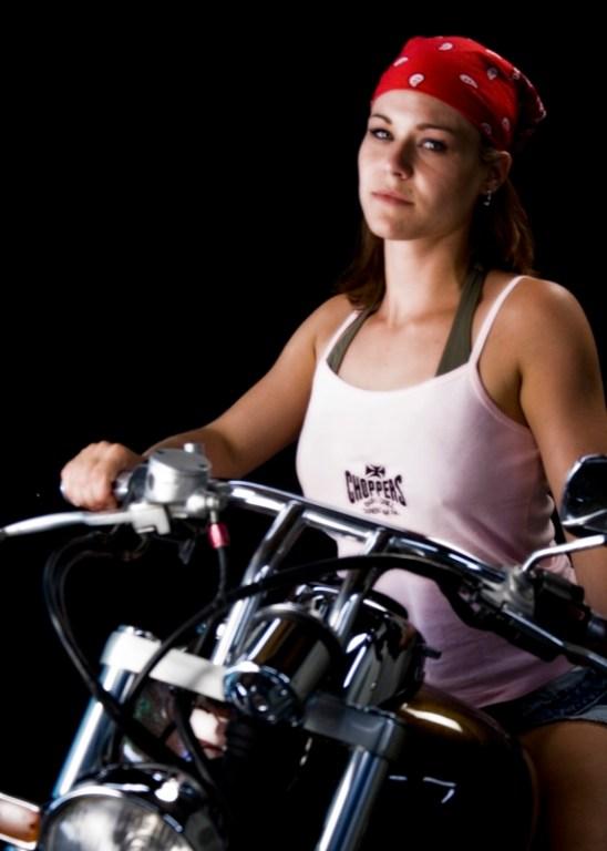 Nikki Bike Portrait