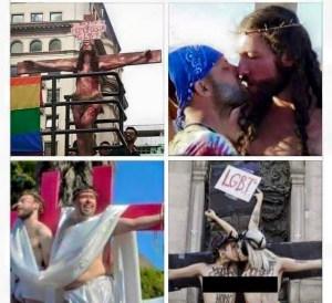 Jesuses (Jesi?) at Pride
