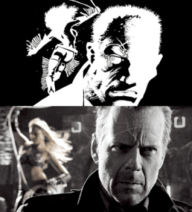 Sin City: Hartigan and Nancy comparison
