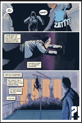 One of the Few, page 4. Artwork by Daniel Bell.