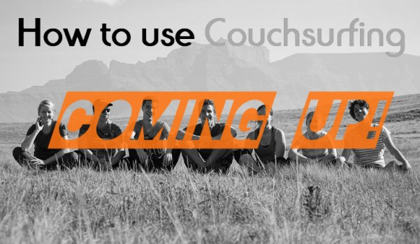 How to use Couchsurfing