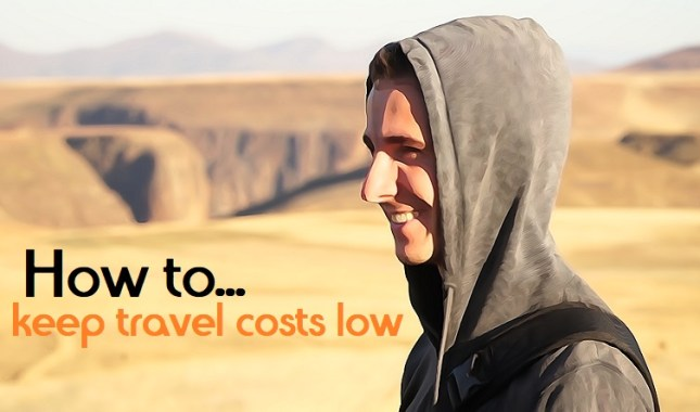 How to keep travel costs low