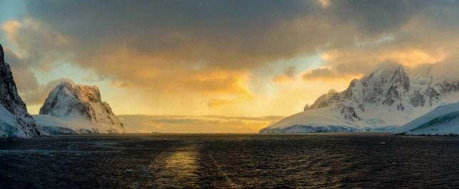 Antarctica Lemaire Channel