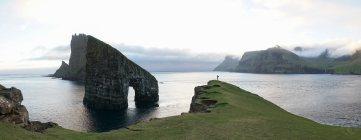 Faroe Islands Drangarnir Sea Stack
