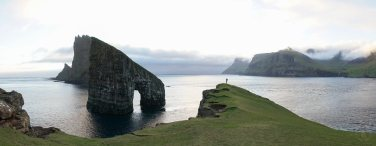 Faroe Islands Drangarnir Sea Stack
