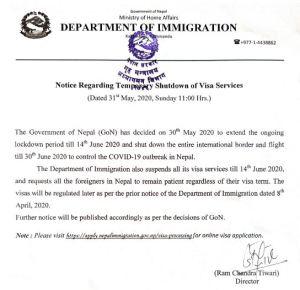 nepal immigration