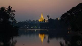 Shwedagon Pagoda in Yangon.