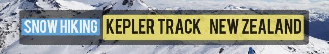 new zealand kepler track