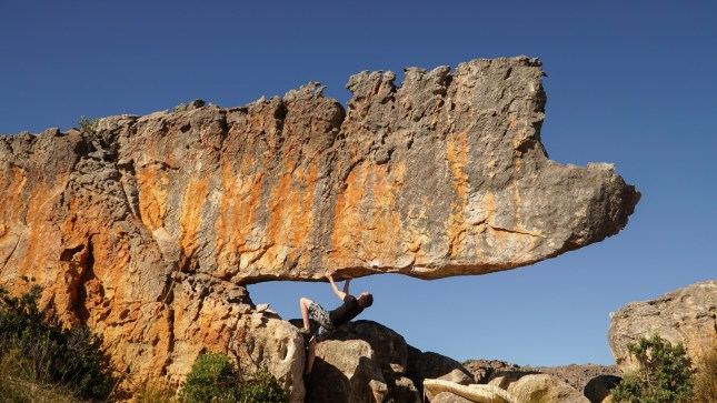 rocklands climbing