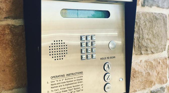 "Apartment Call Box ""Hack"""