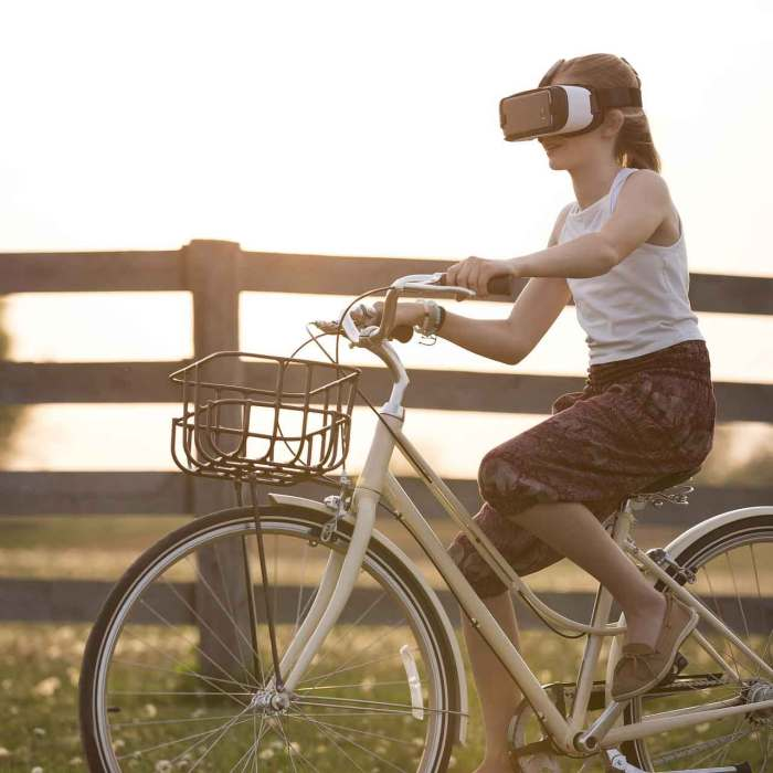 Virtual Reality now just reality