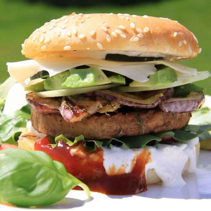 In search of the perfect homemade veggie burger