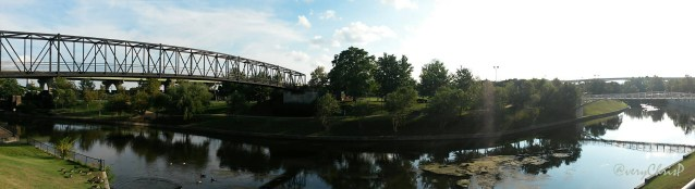 Canal panoramic