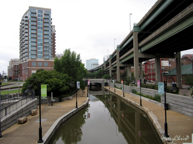 The Canal Walk.